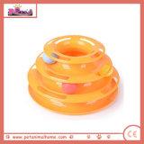 Cute Plastic Ball Pet Toy in 2 Colors (Orange)