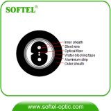 2 Core Duct FTTH Drop Optic Cable with G657A Fiber
