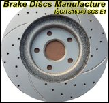 ISO/Ts16949 Certificates Approved Geomet Brake Rotors