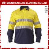 Wholesale Custom Mens Safety Work Shirts (ELTHVSI-2)