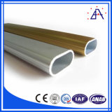 Brilliance Hot Selling Anodized Any Colour Aluminum Oval Tube