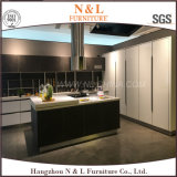 N & L 2017 Sliding Countertop Glass Lacquer Kitchen Furniture