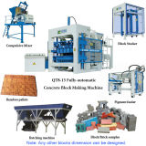 Qt8-15 Fully-Automatic Concrete Hollow Block Making Machine