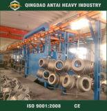 Continuous Conveyor Overhead Chain Shot Blasting Machine