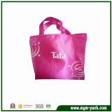 Popular Vivid Purple Women Non-Woven Handbag for Shopping