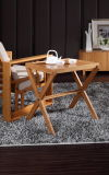 Bamboo Folding Cafe Table / Accent Table / Occasional Table