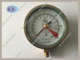 with Rember Red Point Capsule Pressure Gauge 100mm