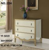 Cheap Simple Mirror Cabinet Furniture Bent Mirror Nightstand