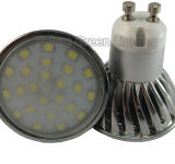 LED GU10 Lamp 4W 400lm 24PC 2835SMD LED