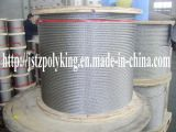AISI304&316 Stainless Steel Wire Rope-6x19s (W) +FC/IWRC