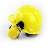 Best Quality Construction Safety Helmets with Earmuff Ce Passed