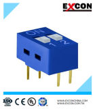 Micro Slide DIP Switch Excon RS-02-B Two Positions