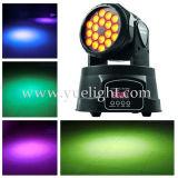 18PCS 3W LED RGB LED Moving Head Light