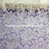 Cheap Cotton Flocked Fabric Lace (M675)