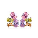 Fashion Zircon Stud Earring (23811)