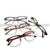 Fashion Famous Design Half Rim PC Eyewear Optical Frame
