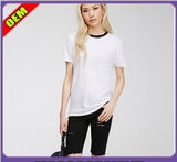 Fashion Sexy Cotton Print T-Shirt for Women (W251)