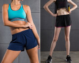 Wholesale Dry Fit Breathable Fitness Gym Clothing Women′s Short