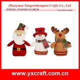 Stuffed Toy Christmas Decoration - Santa Claus - Snowman - Reindeer