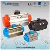 at Series Rack and Pinion Pneumatic Actuator with Double&Single Acting