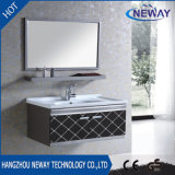 High Quality Steel Classic Bathroom Cabinet Furniture with Mirror