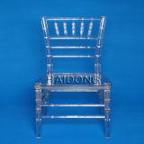 Clear Crystal Transparent Polycarbonate Resin Chiavari Chair Sillas Tiffany (HDCV-R01)