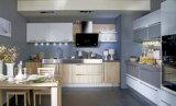 European Style Simple Design Melamine Kitchen Cabinet Furniture (zg-037)