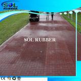 High Quality Outdoor Floor 1mx1m Rubber Flooring