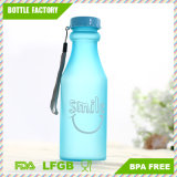 Hot Sale Plastic Easy to Take Water Bottle with Handle BPA Free