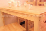 Solid Wooden Dining Table Living Room Furniture (M-X2445)