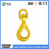 G80 European Type Swivel Self-Locking Safety Hook