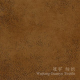 Bronzing Suede Microfiber Compound Fabric for Sofa Covers