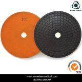 Velcro Back Copper Resin Diamond Pad/Flexible Polishing Pad