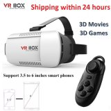 "Vr Box 2.0 Version Vr Glasses Google Cardboard for 3.5"" - 6.0"" Smart Phone+ 8GB 3D Games and Movies with Package"