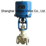 Electric Fluorine Lined Single Seat Control Valve with Bellows