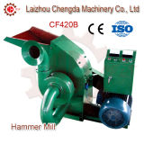 11kw Bamboo Coconut Shell Alfalfa Chipping Hammer Mill with Cyclone