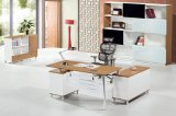 Modern Hot Sale Fashionable Style Wooden Legs Veneer Manager Table