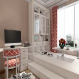 Customize Fashion Home Design White Bedroom Wardrobe