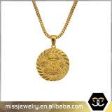 22K Gold Plated Full Diamond Hip Hop Pendants