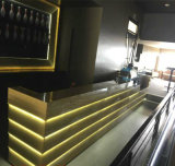 High Quality Marble Illuminated LED Light Bar Counter