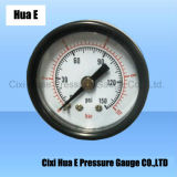 40mm Ordinary Black Steel Shell Pressure Meter