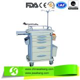 China Wholesale Comfortable Hospital ABS Medical Nursing Trolley