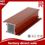 Aluminum/Aluminium Wood Grain Extrusion Profile for Window Door