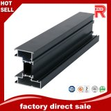 Aluminum/Aluminium Extrusion Black Anodized Profile for Window