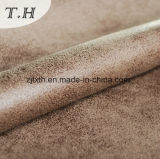 Competitive Furniture Fabric Copy Leather Farbic Suede Fabric