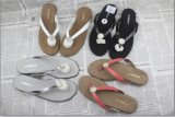 Leather Sandals Leather Slipper Wedge Sandals Beach Sandals Beach Shoes Beach Slipper Flip Flop Flat Sandals Summer Shoes Women Shoes Leisure Shoes