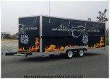 Steamer Juice Bar Kiosk Commercial Fruit Carts Designed Popcorn Cart Vending Mobile Restaurant Food Vehicle