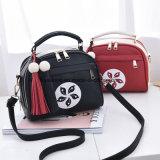 Fashion Colorful PU Leather Cheap Lady Tote Handbag (FTE-075)