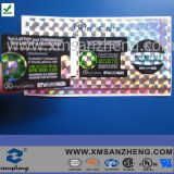 Custom Shiny Glossy Permanent Solvent Resistant Sticky Clear Holographic Stickers (SZXY070)