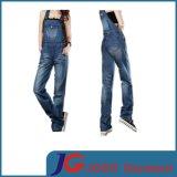Fashion Lady Long Suspender Jean Trousers (JC1178)